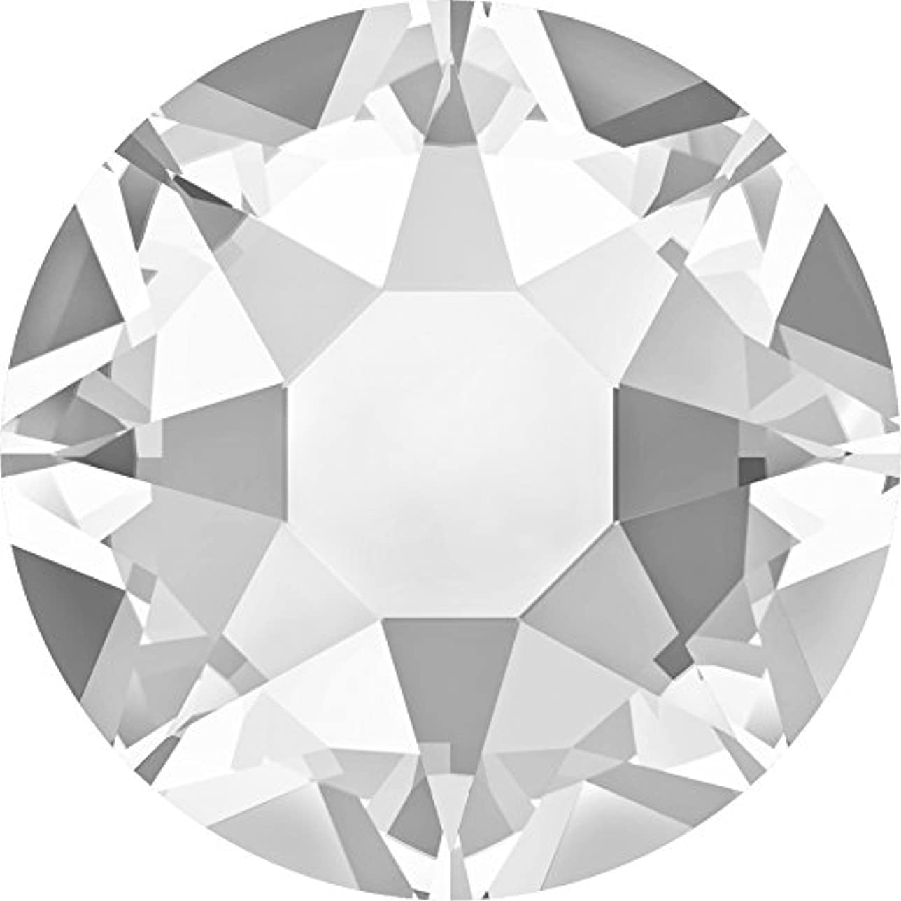 刃動詞絡まるスワロフスキー(Swarovski) クリスタライズ ラインストーン 【ホットフィックス】布用スワロ (SS12(約3mm)40粒入, クリスタル)