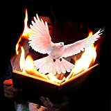 【手品 マジック】ダブ&ファイヤーブック 燃える本からハトを出る ファイア本に鳩アピアリング ハトアピアリングマジック ステージマジック道具 手品道具