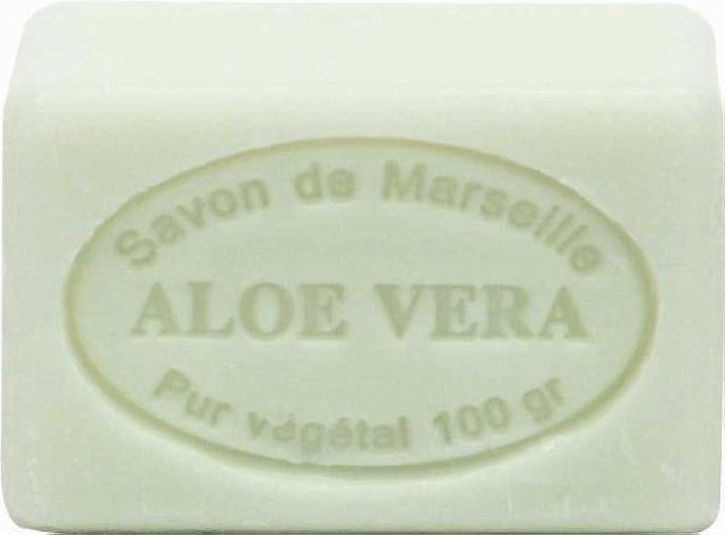 おとこ影響力のある振動するル?シャトゥラール ソープ 100g アロエ SAVON 100