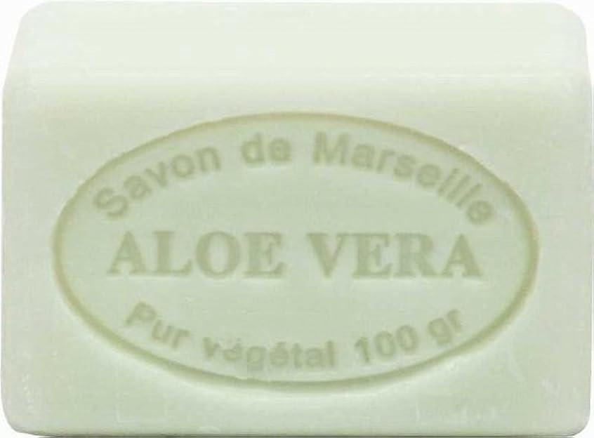 うまくいけば光沢のある盆地ル?シャトゥラール ソープ 100g アロエ SAVON 100