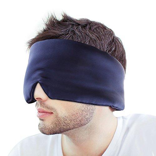 SIAYI(しあい) アイマスク 天然シルク 究極の肌触り 鼻...