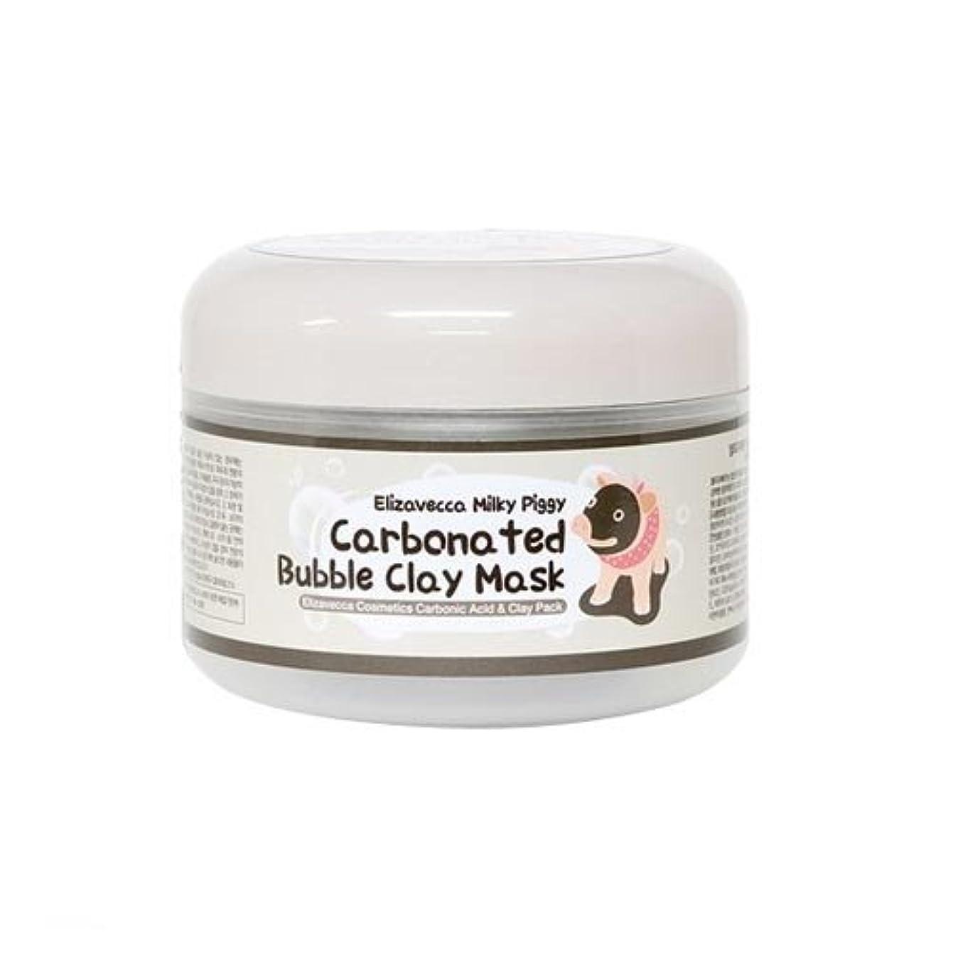 溶かす矩形廃止する(6 Pack) ELIZAVECCA Carbonated Bubble Clay Mask (並行輸入品)