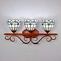 FHHVN ウォールライト現代のクリエイティブガラスの浴室ミラーヘッドライト回廊バーレストランの装飾壁ランプ (サイズ : UK Plug)