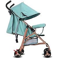 ベビーカーの軽量折りたたみ傘のベビーカーは、座ったり、ショックアブソーバを寝かせることができます