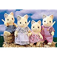 Calico Critters Whiskers Cat Family by Calico Critters [並行輸入品]