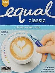 Equal Classic Sweetener Stick 100 Sachets, 100 g