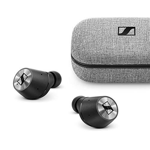ゼンハイザー Bluetooth 完全ワイヤレスイヤフォン MOMENTUM True Wireless (M3IETW BLACK)【国内正規品】