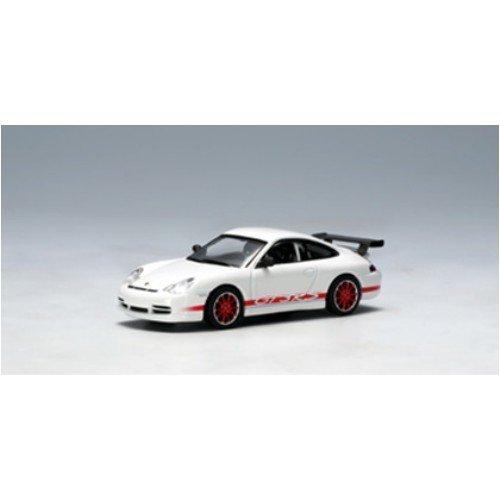 AUTOart 1/64 ポルシェ 911 (996) '04 GT3 RS (ホワイト・レッドストライプ)
