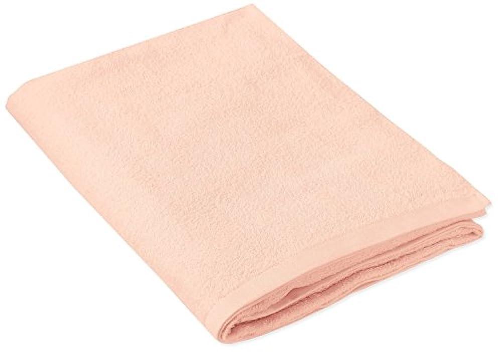 専門知識情熱的レザーキヨタ 抗菌介護タオル(大判タオル1枚入) オレンジ 80×135cm