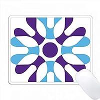 青と紫のレトロ形状 PC Mouse Pad パソコン マウスパッド