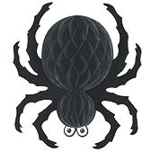 "18"" Black Tissue Spider 18 ""黒のティッシュスパイダー♪ハロウィン♪サイズ:"