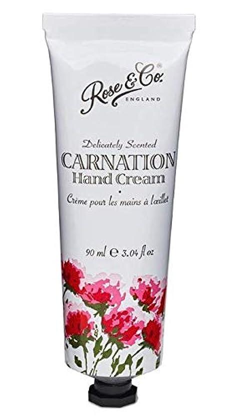 年齢販売員妻Rose & Co. ビンテージ フローラルハンドクリーム(カーネーション)