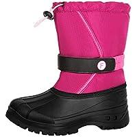 Crova Kids Snow Boots Boys Girls Lightweight Winter Warm Waterproof Outdoor Anti-Slip Fur Lined Cold Weather Shoes (Little Kid/Big Kid)