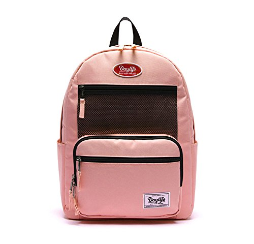 14216afe6cc5 デーライフ] Daylife Layer Plus Backpack 2019 NEW レイヤープラス メッシュ リュック バックパック 6色  [並行輸入品] (ピンク)
