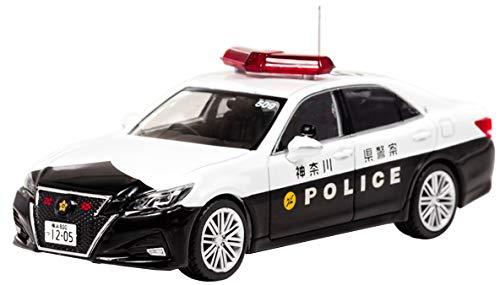 1/43 RAI'S トヨタ クラウン アスリート (GRS214) 2017 神奈川県警察高速道路交通警察隊車両(509)