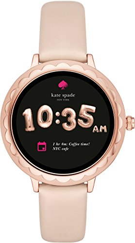 [해외][케이트 스페이드 뉴욕] kate spade new york 시계 SCALLOP TOUCHSCREEN SMARTWATCH KST2003 여성 정식 수입품/[Kate Spade New York] kate spade new york Watch SCALLOP TOUCHSCREEN SMARTWATCH KST 2003 women`s regular imported goods