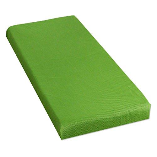 タンスのゲン 【爽快メッシュ使用】 高反発マットレス シングル 10cm メッシュ グリーン AM 000061 GR