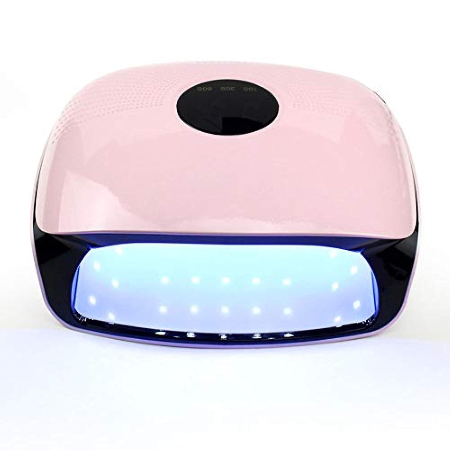 しつけフィットネス苗ネイルドライヤー - 温度保護第3ギアタイミング無痛モード36 LGランプビーズ速乾性機上のLED光線療法機48W