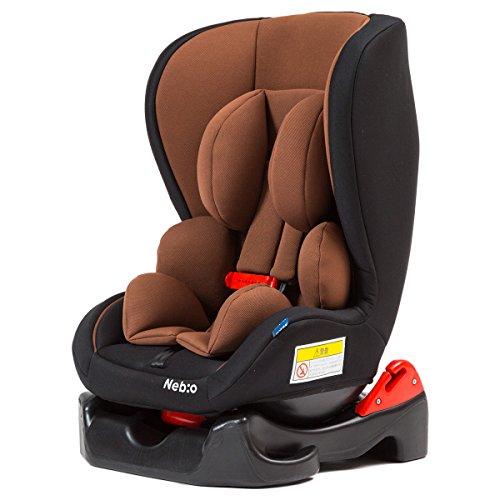 【安全性を追求したスリムタイプのチャイルドシート】 (欧州安全基準 ECE-R44認定) Nebio...