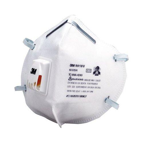 3M 折りたたみ式防護マスク 9010 N95 20枚入 排...