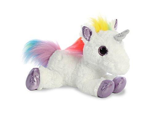 Aurora世界Flopsieぬいぐるみおもちゃ動物、レインボーユニコーン、12?