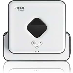 アイロボット 床拭きロボット ブラーバ380j 簡単操作 水拭き・乾拭き可能 急速充電 B380065