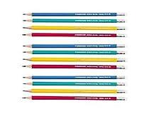 Staedtler Noricaレインボー、HBブラック、12のセット、リード鉛筆(パックof 3)