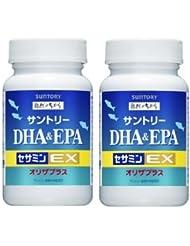 【2個セット】サントリー DHA&EPA+セサミンEX 240粒