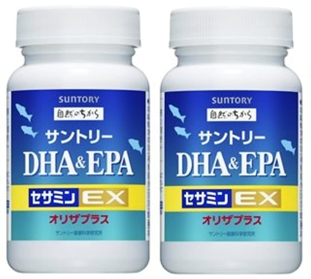 退屈させる詳細なサーカス【2個セット】サントリー DHA&EPA+セサミンEX 240粒