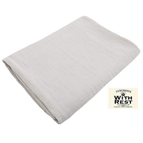昭和西川 ガーゼケット グレー 140×190㎝ シングル 肌に優しい綿100% 6重織ガーゼケット AmazonオリジナルG2