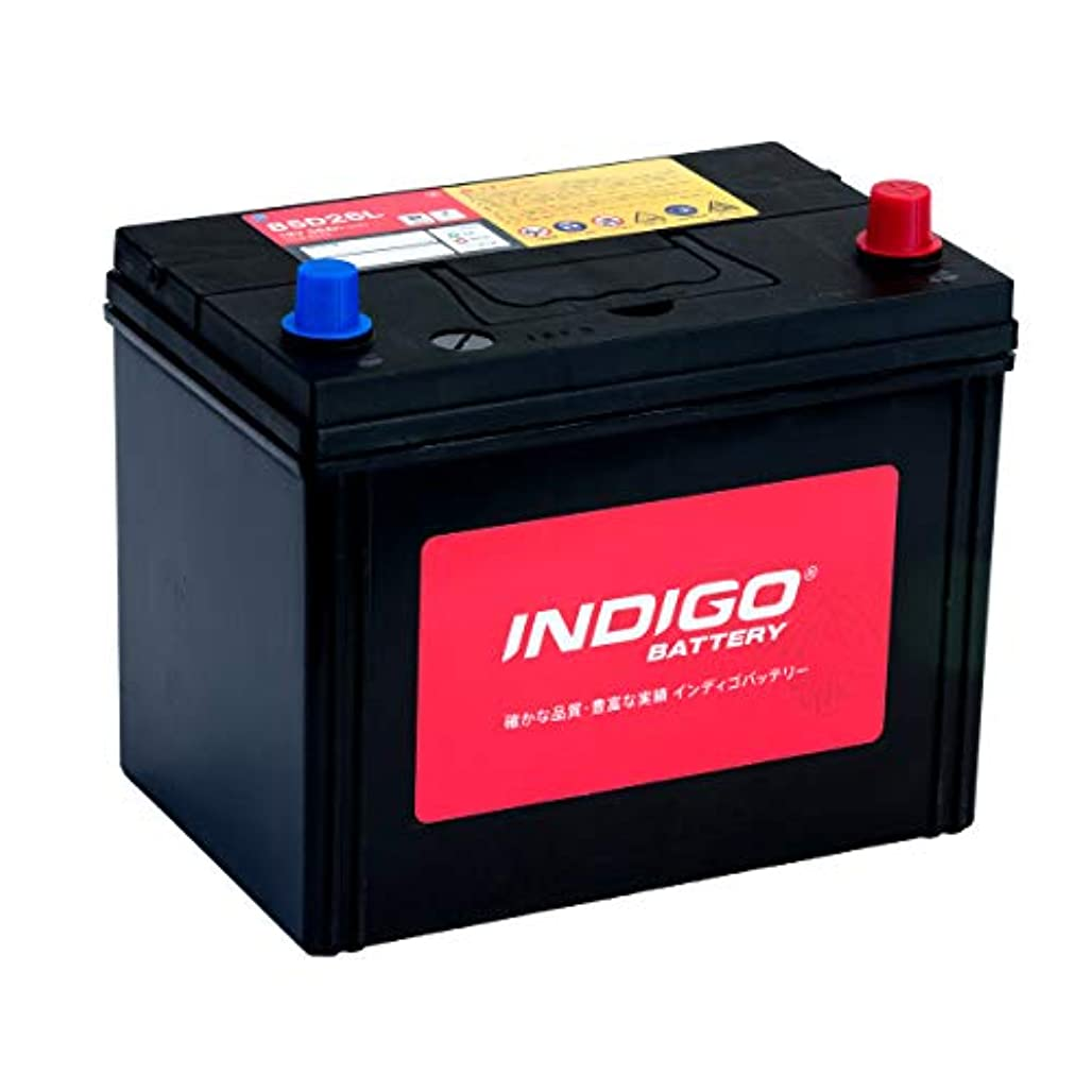野望対教えインディゴ バッテリー 85D26L ダイナ PB-XZU351D H17/4~ ダンプ車