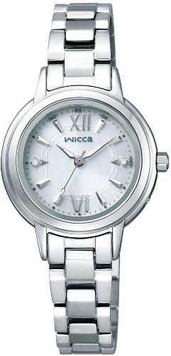 [シチズン]CITIZEN 腕時計 wicca ウィッカ ソーラーテック 電波時計 KL4-516-11 レディース