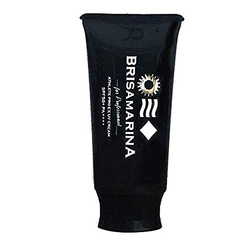 ヒット回復する耐えるBRISA MARINA(ブリサマリーナ) 日焼け止め アスリートプロEX UVクリーム SPF50 PA++++ 保湿成分 全身 顔 サンケア ウォータープルーフ 日焼止め 日本正規品 ホワイト