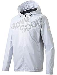[デサント] ウィンドブレーカージャケット 断熱 保温 はっ水 防風 MOVESPORTS メンズ DMMMJF33 NV 日本 M (日本サイズM相当)