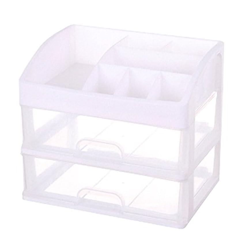 ピンポイント違反する織るFelimoa 化粧品収納ボックス メイクケース コスメ収納ボックス 引き出し小物 化粧品入れ
