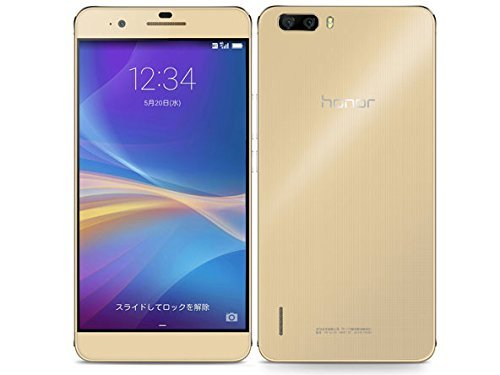 Huawei Huawei honor6 plus 32GB (PE-TL10) [Gold 国内版 SIMフリー]