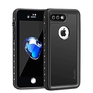 Easylife iPhone7 plusケース 防水[iPhone7 plus case] 防水 通話可能 防塵 耐衝撃 指紋認証可能 アイフォン7 防水カバー ウォータープルーフ