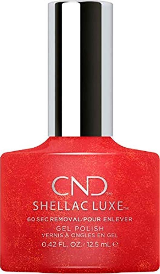 飛び込む帳面魅力的CND Shellac Luxe - Hollywood - 12.5 ml / 0.42 oz