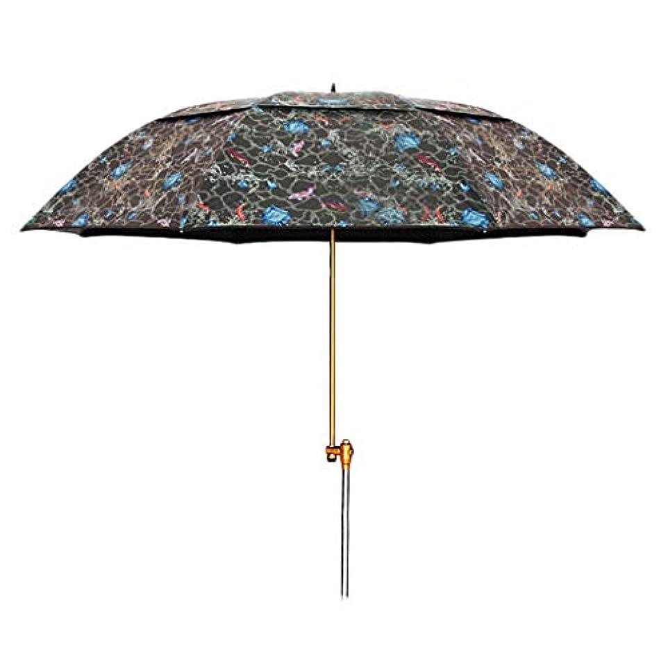 疑問を超えて適応する魂太陽傘マグネシウムアルミ合金日焼け止め雨折りたたみ傘屋外サンシェード傘 (Size : H2.15m)