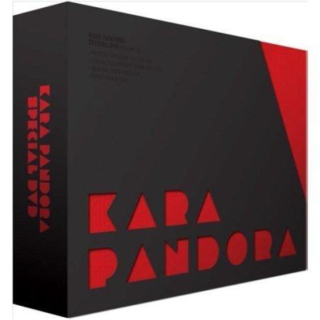 【2014年写真集カレンダー&《 KARA福袋 》 付】 KARA PANDORA SPECIAL DVD (DVD4枚組/日本語字幕/リージョンALL)【限定版】(韓国盤)【ワンオンワン購入特典:2014年写真集カレンダー(日本祝日仕様)/ KARA福袋付】
