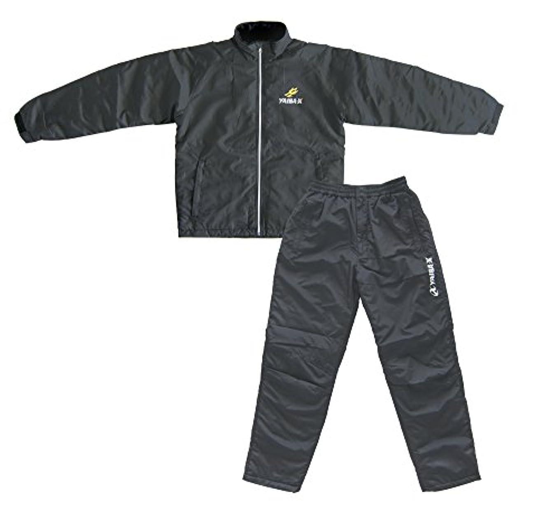 黒人ながら麺ささめ針(SASAME) ヤイバ ウィンドブレーカースーツ YBS-2 ブラック