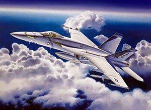 1/32 F/A-18E スーパーホーネット 単座型 (03204)