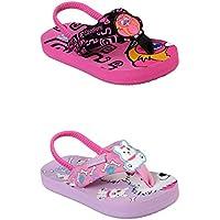 Official Brand Skechers Waterlilly Flip Flops Infants Girls Thongs Sandals Beach Shoes
