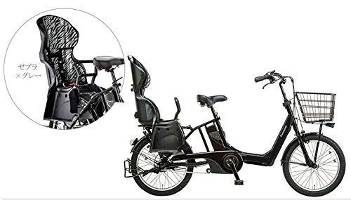 Panasonic(パナソニック) 2015年モデル ギュットアニーズ(Gyutto ANNYS) カラー:マットナイト BE-ENMA033-B チャイルドシート付き電動アシスト自転車 専用充電器付