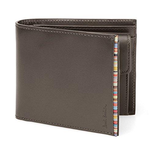 ポールスミス PaulSmith メンズ 2つ折り財布 レザー PSU055-990 牛革 (ブラウン)