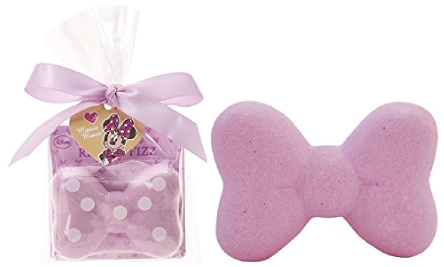 運ぶ精神竜巻ディズニー 入浴剤 ミニーマウス リボン バスフィズ 30g マイルドラベンダーの香り DIP-82-03