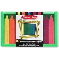 Melissa And Doug Jumbo Fluorescent Crayon Set (並行輸入品)