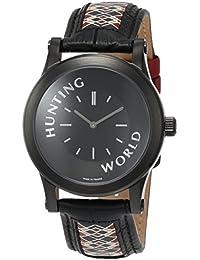 [ハンティングワールド]HUNTING WORLD 腕時計 ソルジャー コラボレーションモデル クォーツ HWS001BK メンズ 【正規輸入品】