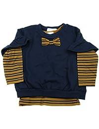 【子供服】 Will Mery (ウィルメリー) 5分袖Tシャツ+ボーダーTシャツセット 80cm~130cm S66850