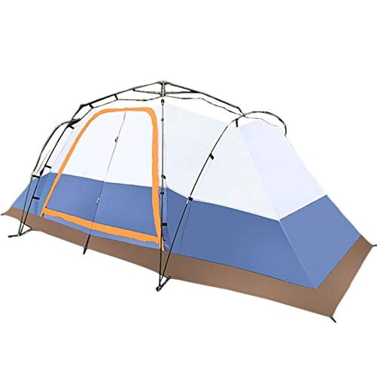 チラチラする折贅沢なNasou 2部屋、1ホール、テント、屋外キャンプ、4?6人、8?10人、2部屋、1ホール、多人数ダブルテント